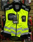 FLY FAST-PASS MENS VEST HI HIGH VIS FLUORESCENT SAFETY YELLOW BRAND NEW
