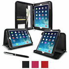 rooCASE Executive Portfolio Leather Case with Stylus for Apple iPad Air, 3 Color