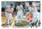 ENGLAND (FREDDIE FLINTOFF) 02 SIGNED PHOTO PRINT