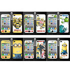 Wo Slim Front Back Clear Cartoon Screen Protector Film Cover For Iphone 4 4S (O)