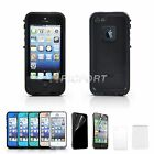 For Apple iPhone 5 5s PC Waterproof Shockproof  Hard Cover Case with Protector
