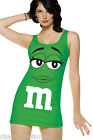 Sexy M&M Novelty Fun Tank Fantasy Halloween Costume Dress Medium 8 10 12