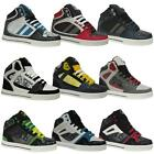MENS DESIGNER HI TOPS TRAINERS BOYS BASKETBALL ANKLE BOOTS PUMPS SHOES SIZE DD06