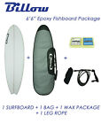 "NEW Billow 6'6"" Epoxy Fish Surfboard Package with 5xFCS fins Shortboard"