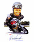 JIM REDMAN (WORLD SUPERBIKES) SIGNED PHOTO PRINT 01