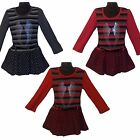 New Girls Dress & Belt /Knitted Tunic/Pleated Top 2-12ys Casual/Formal WINGS #26