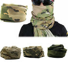 Camouflage Scarf Face Veil Sniper Cover Mesh Airsoft Tactical Army Neckerchief