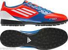 Adidas Mens F5 TRX Turf Football Boots Blue Orange Size 6.5 - 10.5