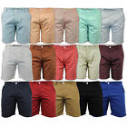 mens Soul Star pants roll up casual designer chino cotton summer half shorts