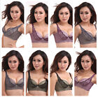 3 Sizes Sexy Women Lady Cup B Embroidery Lace Push Up Underwear Racerback Bras