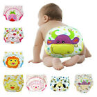 Cartoon Infant Baby Toddler Kids Reusable Washable Cloth Diaper Nappy Waterproof
