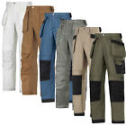 Snickers Work Trousers with Kneepad & Holster Pockets . Canvas+. UK DEALER-3214