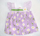 NWT GYMBOREE DAFFODIL GARDEN PURPLE FLORAL SEERSUCKER TOP SHIRT SPRING
