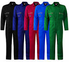 Dickies Mens Redhawk Zip Front Overall / Coverall / Boiler Suit - All Sizes 4839