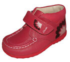 Clarks 'MAIA MAY' Girls Raspberry Leather Ankle Boots UK 5-9.5 (F& G Widths) NEW