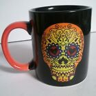 Day Of The Dead Skull 14 Oz Ceramic Mug - Choice Of Color New #28