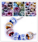 50x Mixed Lantern Carved charm European Craft beads fit Bracelet 5 style choose