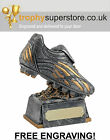 Antique Silver Football Trophy. Football boot trophy. FREE Engraving! SALE! 5.5""