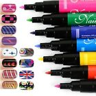 Nail Art Pen Painting Design Tool 16 colors to Choose Drawing Gel Made Easy Hot