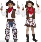 Boys Girls Wild West Cowboy Cowgirl Book Day Week Fancy Dress Costume Outfit