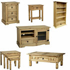 Corona Range Furniture Pine Bedsides,Chest,Tables,TV Units,Bookcases,Nest Tables