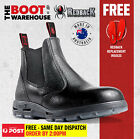 Redback USBBL Work Boots. Steel Toe Cap Safety. Elastic Sided Easy Escape Bobcat