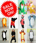 Adult Pajamas Onesie Costume Kigurumi Cosplay Animal Onesies Pyjamas Fancy Dress