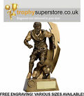Gold Flash Action Footballer Trophy. FREE Engraving! Various sizes available!