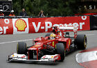 FERNANDO ALONSO 03 (FORMULA 1 Monaco GP 2012) PHOTO PRINT