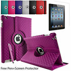 """360° ROTATING DIAMOND PU LEATHER CASE FOR SAMSUNG GALAXY TAB 3. 7"""" TABLET  P3200"""