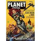 NEW! Planet Stories Black Amazon Of Mars Sci Fi Magazine Cover Poster Wall Art