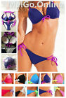 Sexy Womens 2Pcs Push Up Bikini Trikini Swimwear Swimsuit