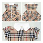 FL Soft Material Girls Kids Genius Baby Plaid Tennis Skirts Dress 5 Sizes Cool