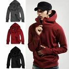 Men's Casual Hooded Coats Hoodies Jacket Zip Up Sweatshirts Jumpers Outwear B441
