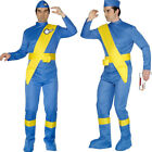 Thunderbirds Fancy Dress Costume Mens Scott & Virgil 60s TV Outfit Smiffys