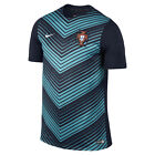 Nike Portugal World Cup WC 14 Soccer Training Jersey New Navy  / Turquoise