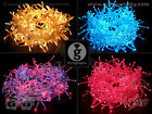 LED Pin Light String / Fairy Light Chain - Choose From Pink, Blue or Multicolour
