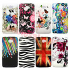 New Painted Patterns Colorful Hard Plastic Back Case Cover F HTC Desire 601 Zara