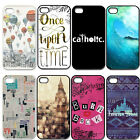 Big Ben Hot Air Balloon Hard Plastic Case Back Cover For iPhone 4 4S 5 5G 5S 5C