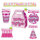 Girls Birthday Party Supplies Decorations Accessories Pink Theme by Wicked Fun