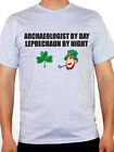 ARCHAEOLOGIST BY DAY LEPRECHAUN - St Patrick's Day / Irish Themed Mens T-Shirt