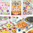 Food Drink Cooking Kitchen Undulate Bubble Phone Scrapbook Stickers Burger BU003