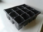 12 Cell Plant Bedding Trays Bulbs Seeds Greenhouse Allotment Herbs Growing Grow