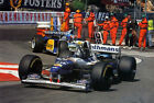 DAMON HILL 07 (FORMULA 1) PHOTO PRINT