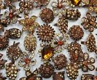 5-30pcs wholesale lot nice top pretty acrylic Copper Vintage Rings free shipping