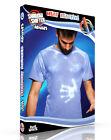 Color Changing Shirt DYEMUREX Blue to White MODERN FIT Hypercolor style shirt