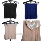Elegant Lady High Waist Chiffon Pleated Large Hem Skirt Summer Casual Mini Dress