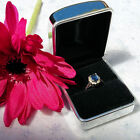 Personalised Diamond Engraved Chrome Ring Box / Engagement/ Proposal/ Marry Me?