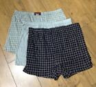 Boxer 3 Pack Boxers Shorts Grey Black Under wear Trunks Checked Designer Pants