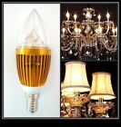 LED E14 Candle Light Dimmable  9W/12W/15W White Warm Bulb Lamp Globe Lights